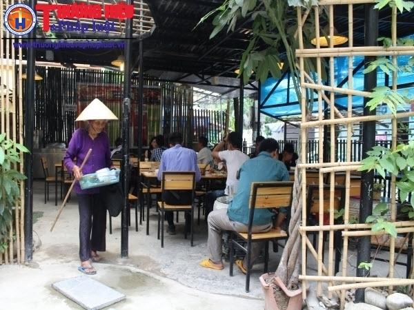 Những suất cơm 1.000 đồng trong nhà hàng sang trọng ở Thủ đô