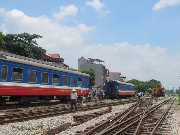 Vì sao tàu liên tiếp trật bánh ở ga Yên Viên, Hà Nội?