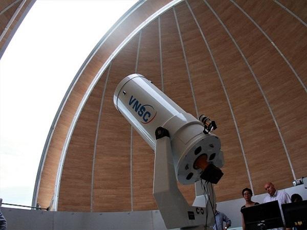 Đài thiên văn đầu tiên của Việt Nam sẽ mở cửa vào tháng 9