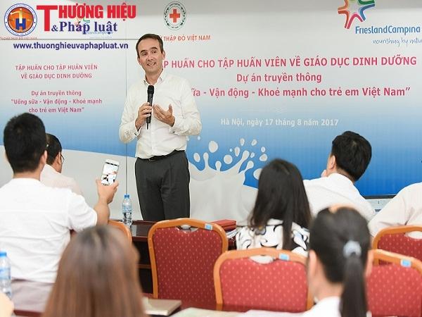 Tập huấn về dinh dưỡng và phát triển thể lực cho trẻ em Việt Nam