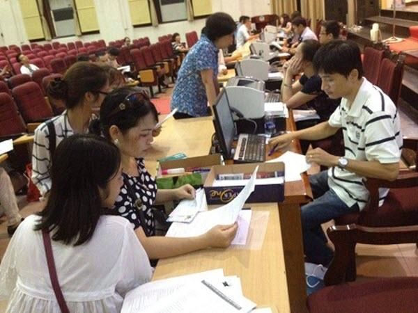 Nhiều trường đại học công bố điểm chuẩn bổ sung đợt 1