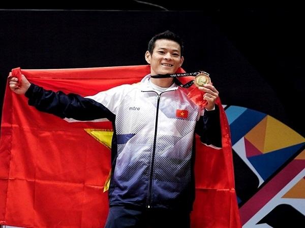SEA Games 29: Thạch Kim Tuấn giành HCV môn cử tạ