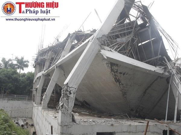 Hà Nội: Cận cảnh công trình trường mầm non bị sập
