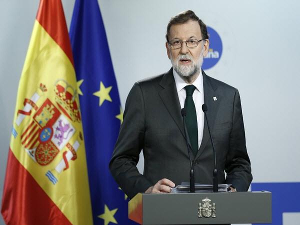 Tây Ban Nha sẽ giải tán chính quyền Catalonia, kêu gọi bầu cử
